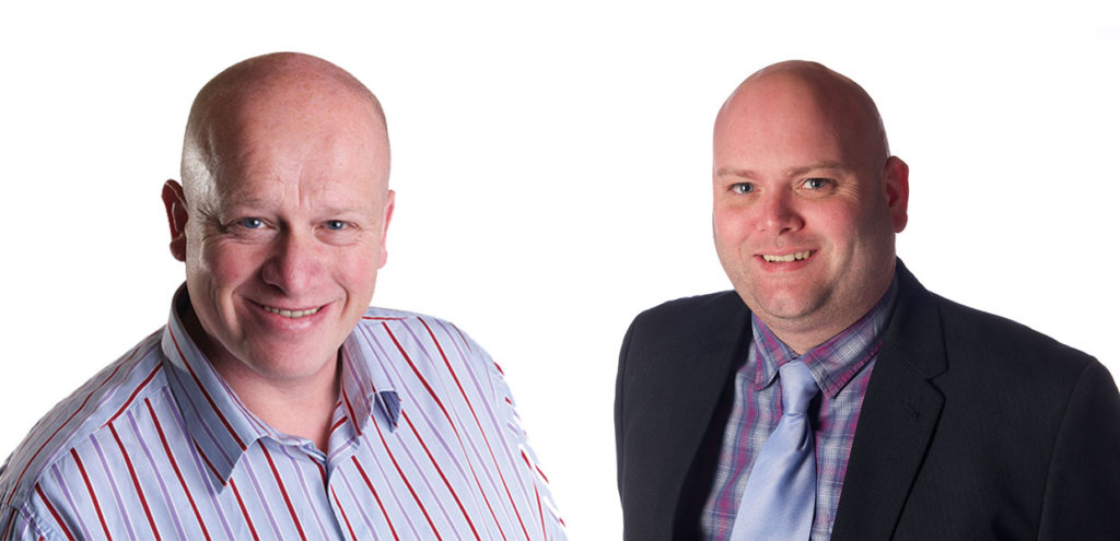 Andrew Bull and Garry Anderson